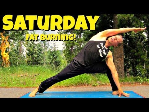 Video  -  Corepower Yoga Saturday - Power Yoga Cardio Fat Burning Routine - 7 Day Yoga Challenge #7d...