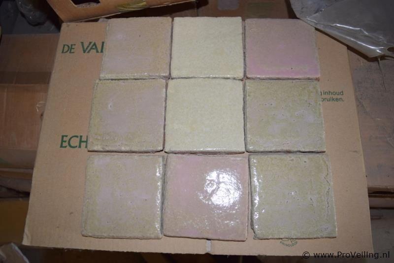 KK handvorm plavuizen 10x10cm - 33,6m²