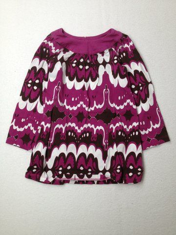 Girls size 4 Hanna Andersson Long Sleeve Shirt