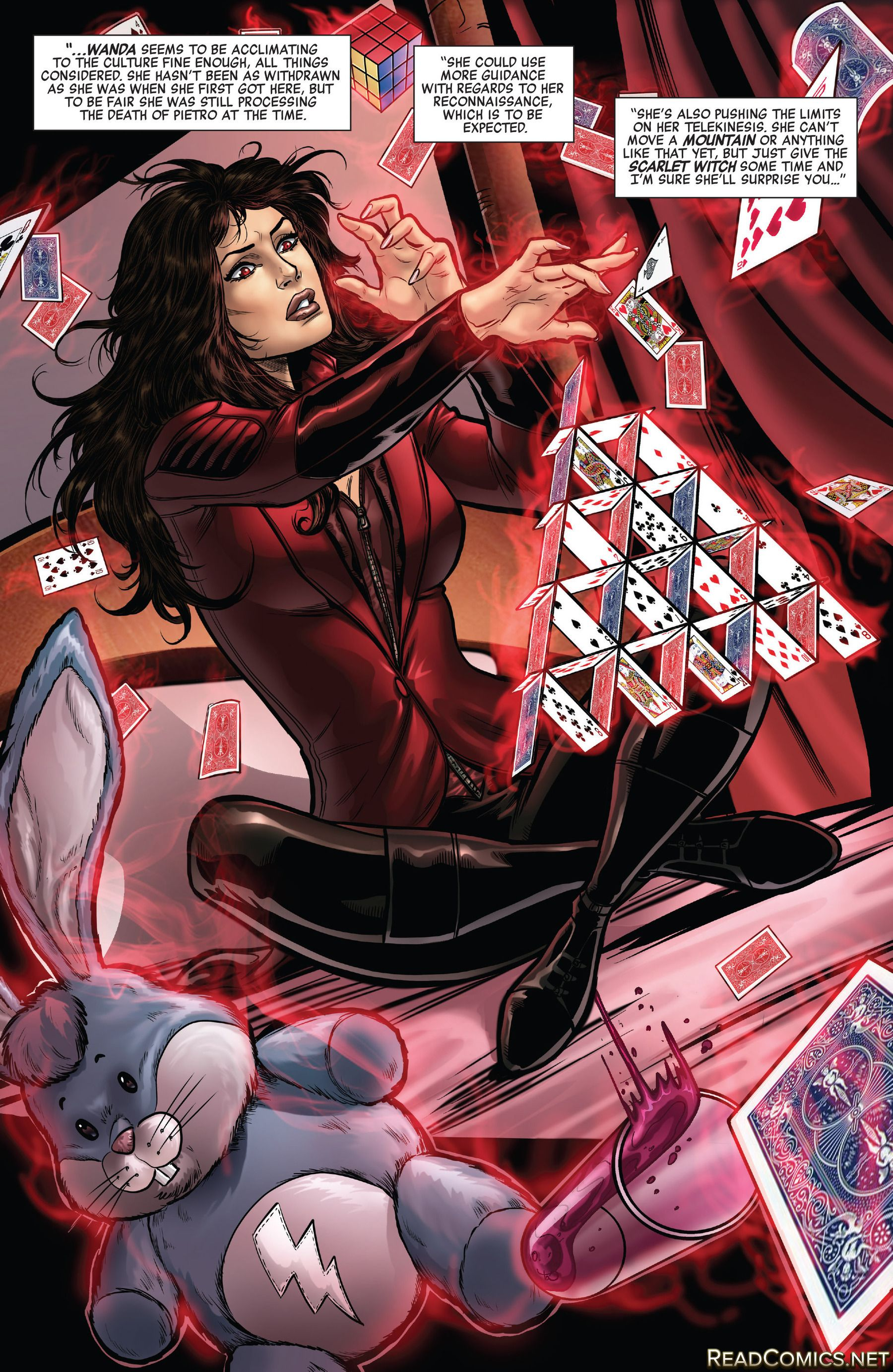 Scarlet witch the bunny with the lightning bolt on it geeknerd scarlet witch the bunny with the lightning bolt on it buycottarizona Image collections