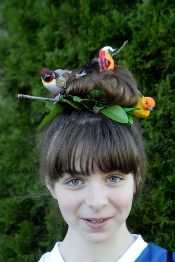 Pin by Melissa Howard on Hairstyles   Wacky hair, Crazy ...