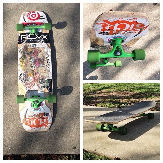 Rørig One longboard. Multiple setups. How would you ride? #setupoftheday MY-87