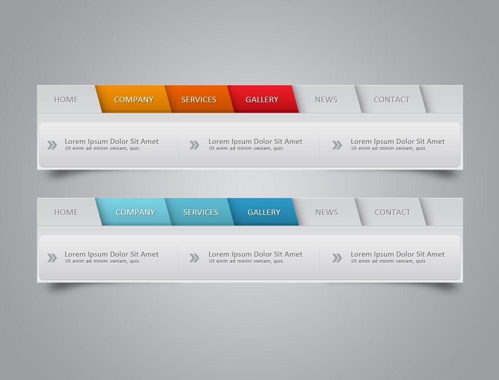 Photoshop Tutorial Web Design Web Element Navigation Infographic Tutorial Web Design Tutorials Web Design
