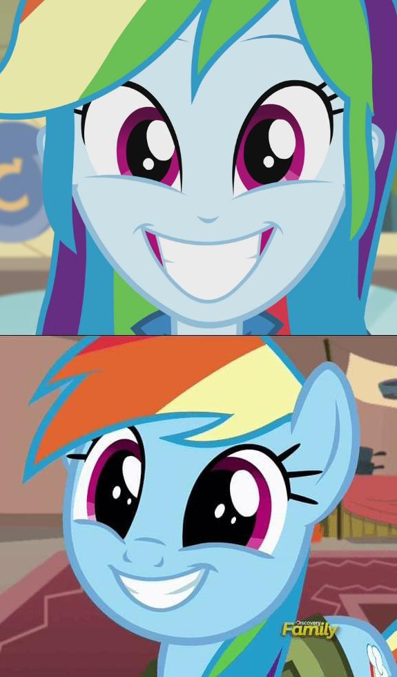 2170892 Comparison Cropped Cute Dashabetes Equestria Girls