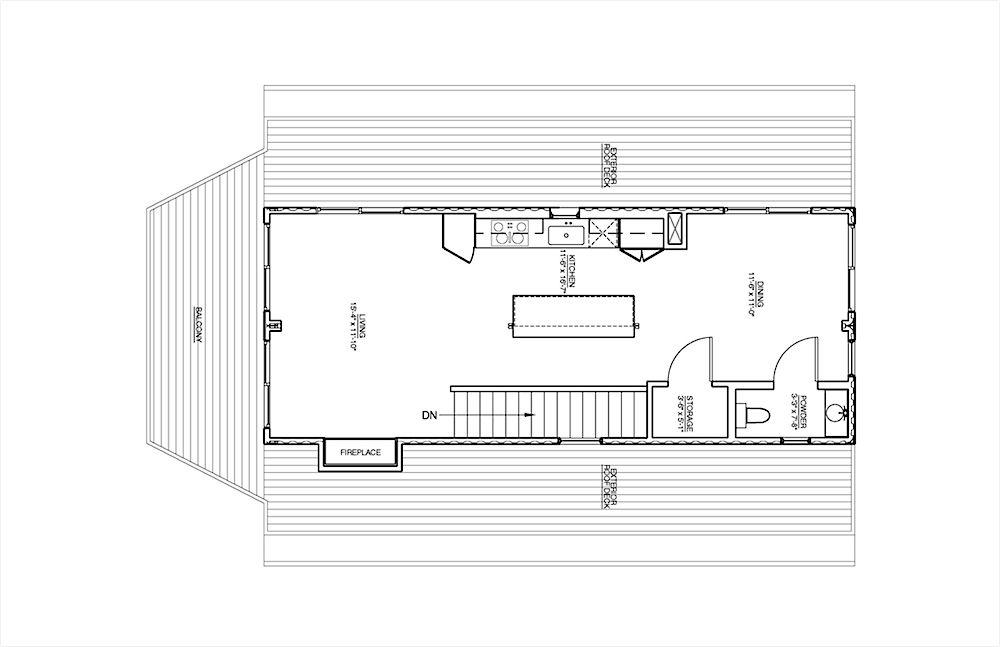 Beach Box 1932 Montauk Highway Floor2 Container House Shipping Container Homes Container House Plans