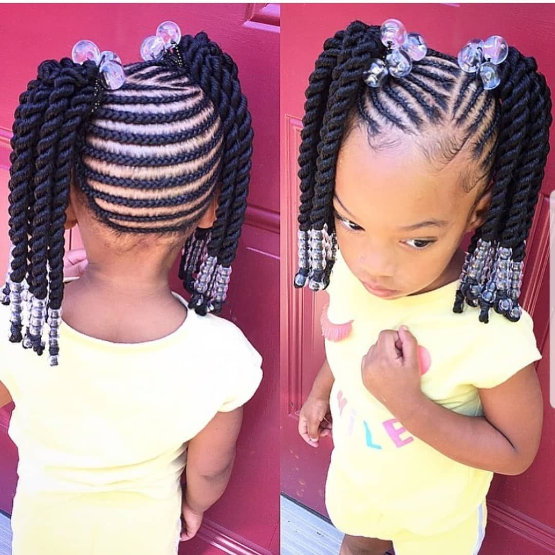 Kids Hairstyles Braids Tybaby333 Follow Kissegirl Hair Skin And Nails Beauty Products Availabl Kids Hairstyles Braids For Kids Kids Braided Hairstyles