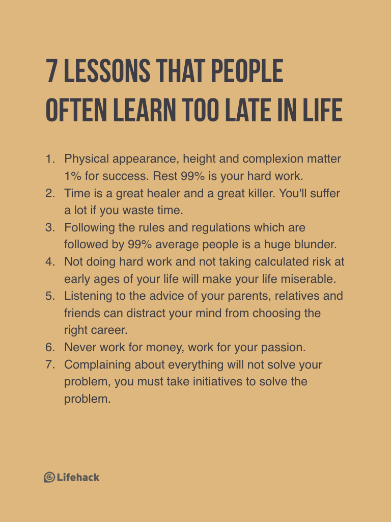 Late Quotes Read This To Avoid Regrets That Most People Have In Their Lives