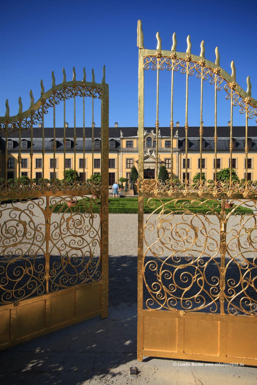 Herrenhauser Garten In Hannover Goldes Tor Hannover Garten