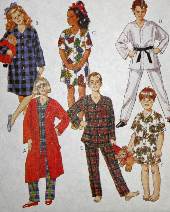 Mccalls 2949 Sewing Pattern Boys And Girls Etsy Pinterest