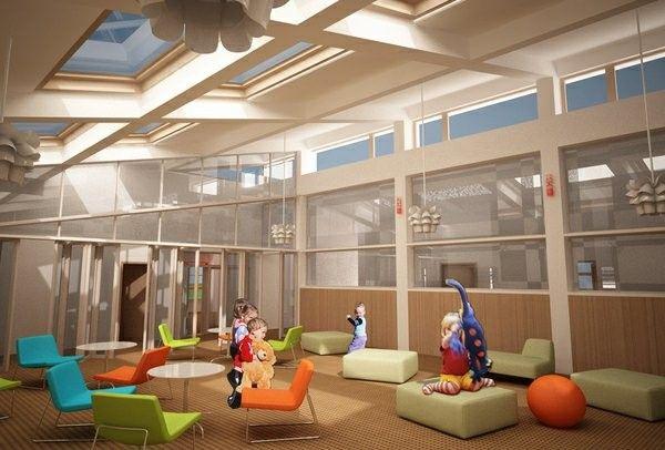 Modern ideas for kindergarten interior! home decorating ideas