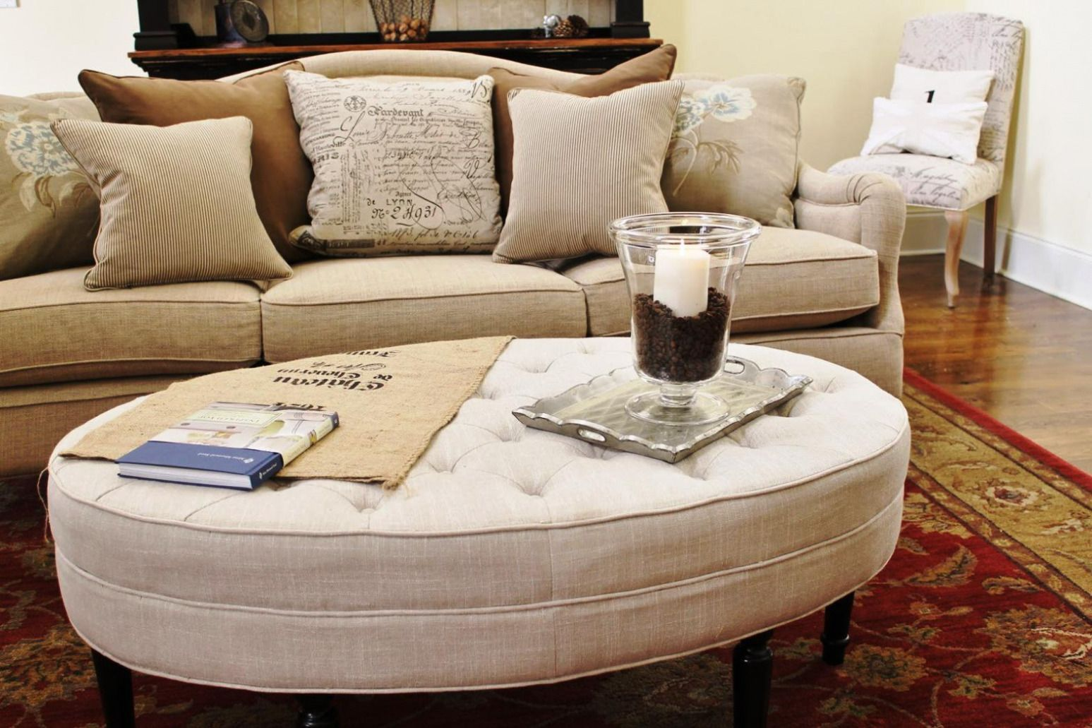 Beau 100+ Round Upholstered Coffee Table   Best Way To Paint Wood Furniture  Check More At