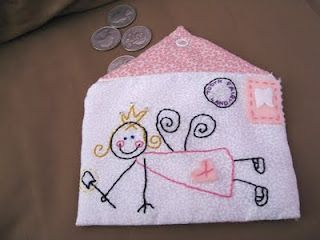 cute ideas for the tooth fairy pillows and things