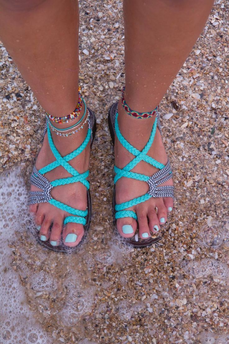 Adorable woven women's rope sandals ON SALE now! (Click