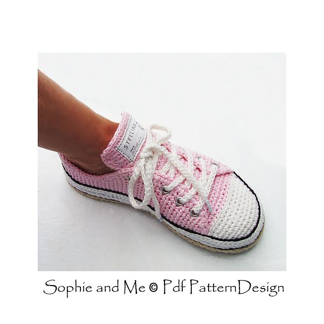 Sneaker Classics pattern by Sophie and Me-Ingunn Santini | Zapatos ...