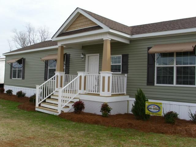 Modular Homes Schult Commodore Crestline Handcrafted Clayton Manufactured Home Porch Mobile Home Porch Mobile Home Renovations