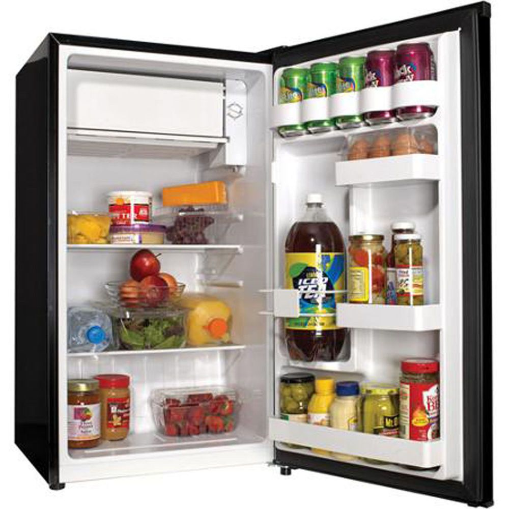 The Haier 3 3 Cu Ft Refrigerator Is A Compact Solution For Any