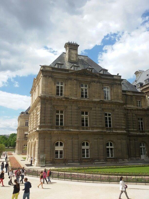 Senat  Paris, Parc de Luxemburg