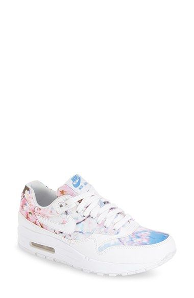 Nike  Air Max 1 Jacquard  Sneaker (Women) available at  Nordstrom ... c3f628ee17f7