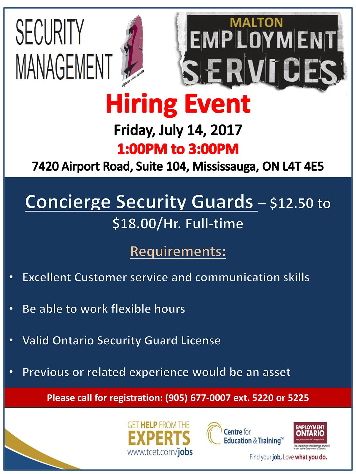 Thinking of a career in the security field? Don't miss the