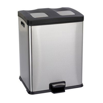 Safco Right - Size Recycling Station - 9634SS