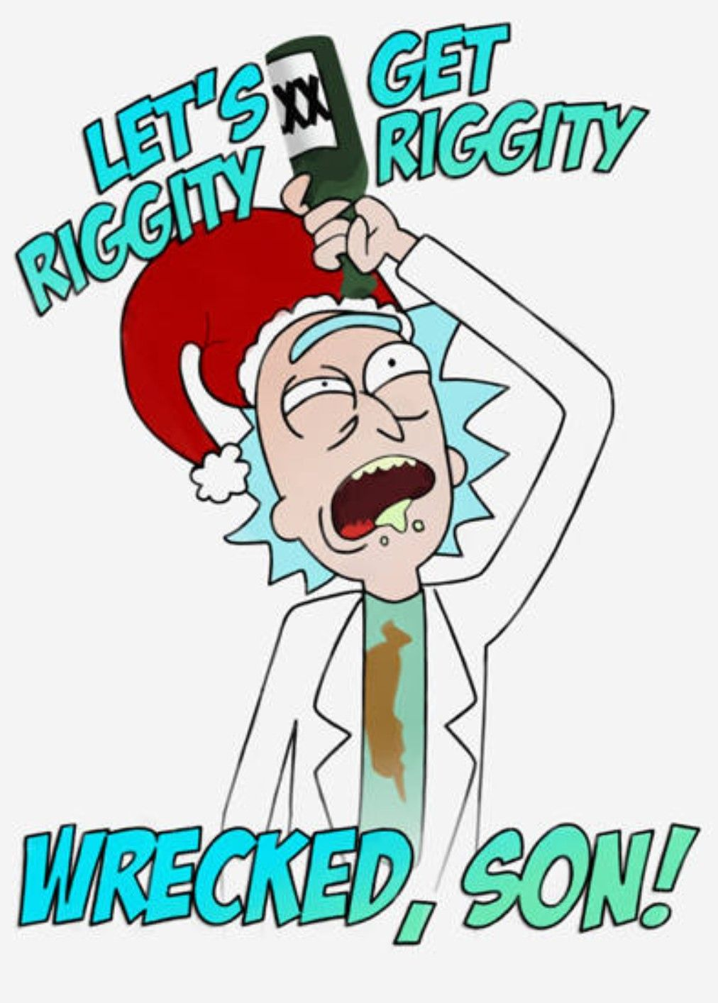 Rick And Morty Christmas.Pin On Rick And Morty
