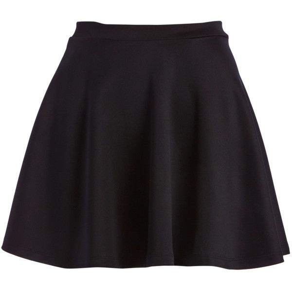 POPULAR BASICS Black Circle Skirt ($6.99) ❤ liked on Polyvore featuring skirts, long flared skirt, long skirts, circle skirt, long circle skirt and long skater skirt