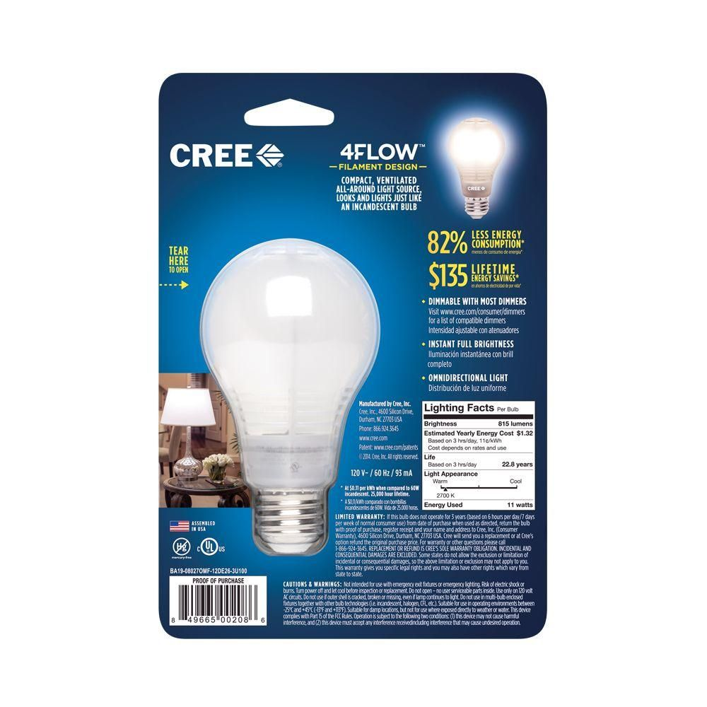 business expensive three costs weight least bub view watt bulb lighter lighting than household generation index cree bulbs from sizethe and last its brighter ssf may light replaces be less is new full led the