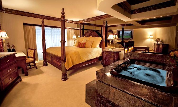 Schlafzimmer mit Whirlpool in 50 traumhaften Wohnideen Dekoration