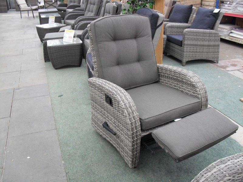Premium quality rocking reclining chair with all cushions included perfect for relaxing on the patio! Available in stylish light grey rattan. & Rocking Reclining Rattan Chair - Single | Conservatory | Pinterest ... islam-shia.org