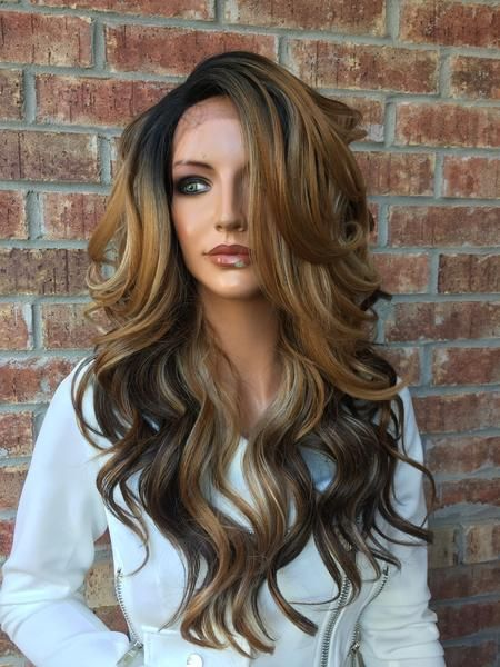 Kirsten Multi blonde lace front hair wig 22