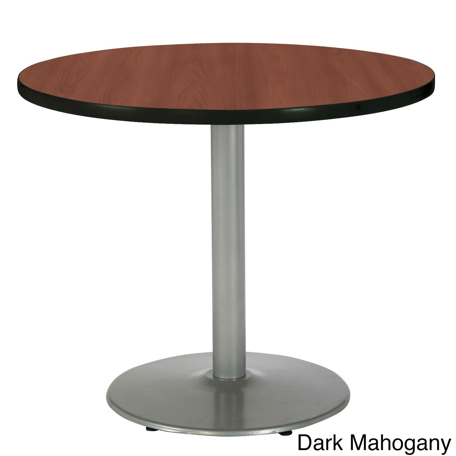 Inch Round Pedestal Table With Round Silver Base Products - 30 inch round office table