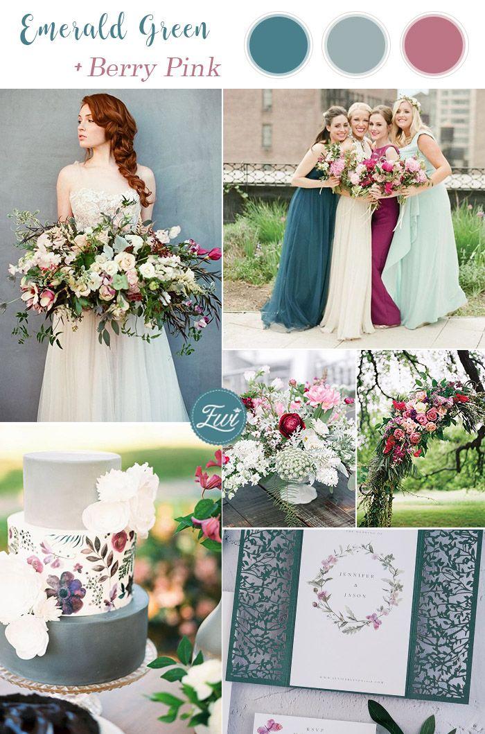 10 Best Winter Wedding Color Palettes for 2019 & 2020