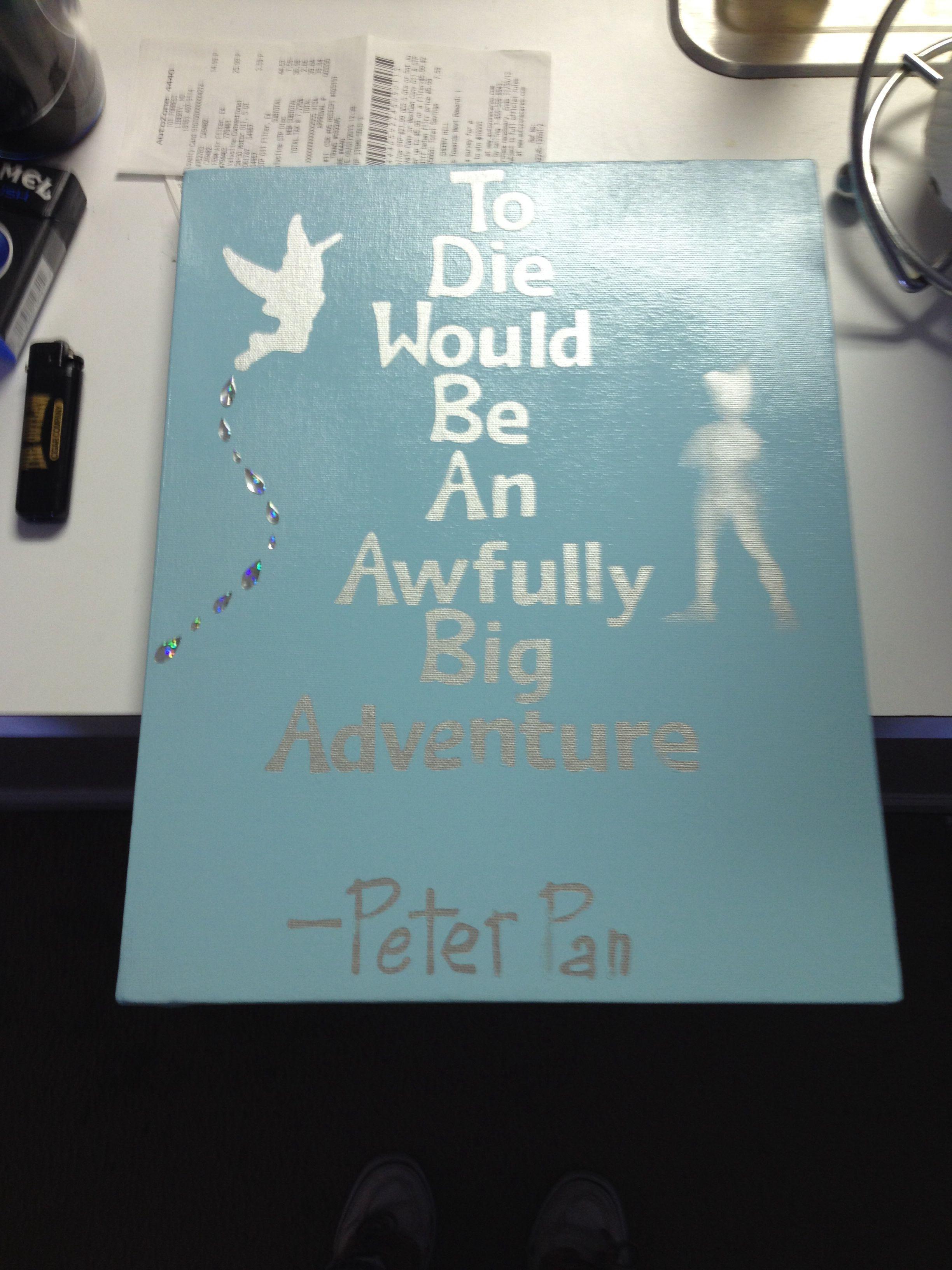 Peter Pan Canvas