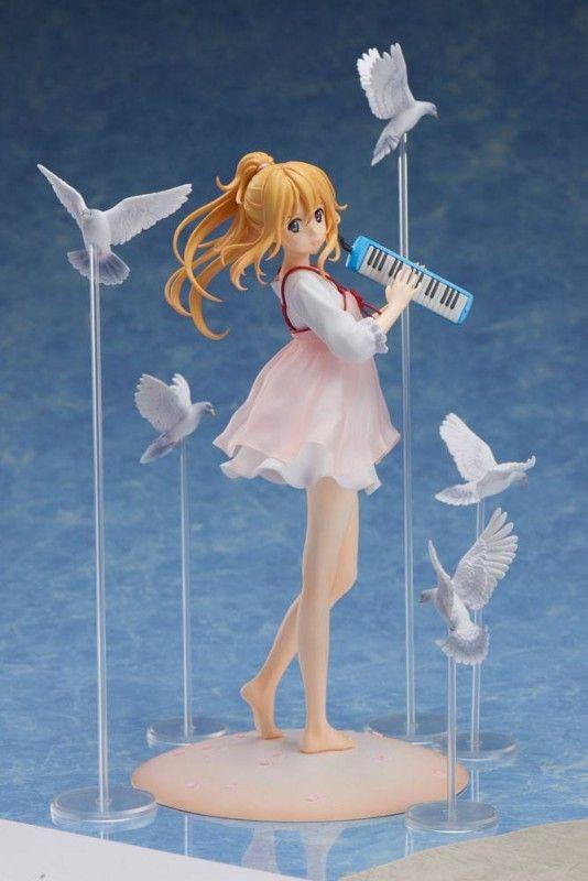 Anime Aniplex Your Lie in April Kaori Miyazono casual ver 1//8 Figure No Box