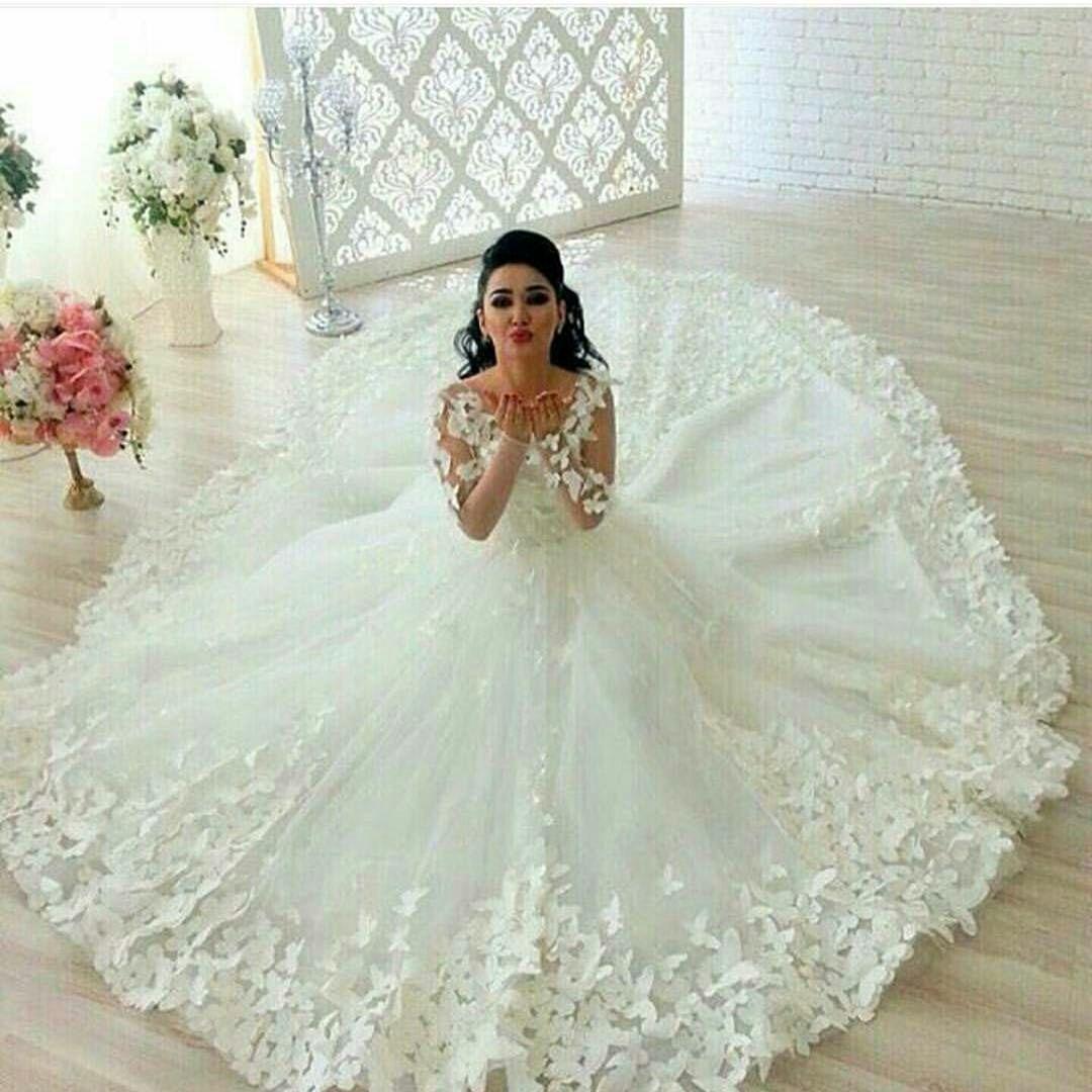Custom wedding dresses from usa dress designer long sleeve wedding