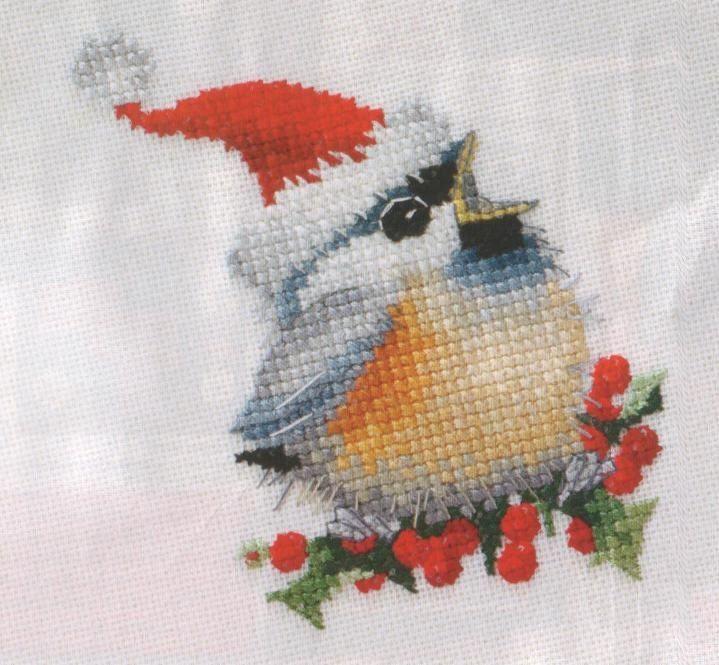 Gallery.ru / Фото #1 - Christmas Bird - irinask
