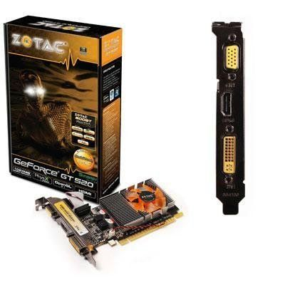 GeForce GT520 SYNERGY Ed 1GB by Zotac. $77.58. At Zotac they are committed to provide the consumer with the highest and best quality when it comes to products like this Exclusive GeForce GT 520 SYNERGY Ed 1GB By Zotac.ZOTAC GT 520 SYNERGY Edition 1GB DDR3, 64 bit, 810 / 1066, HDCP, DVI, HDMI, VGA, Lite Pack By selecting Zotac GeForce GT 520 SYNERGY Ed 1GB - we know you chose right, because at Zotac they are dedicated to meet consumers' satisfaction.