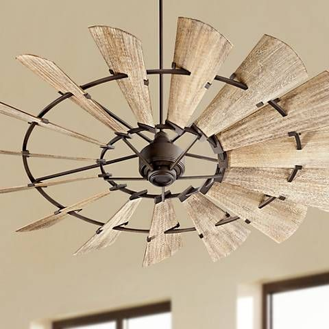 72 Quorum Windmill Oiled Bronze Ceiling Fan 9f876 Lamps Plus