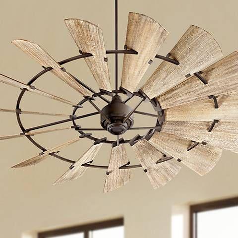 72 Quorum Windmill Oiled Bronze Ceiling Fan 9f876 Lamps Plus