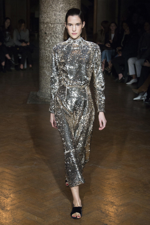 Emilia Wickstead Fall 2017 Ready-to-Wear Fashion Show - Johanna Defant