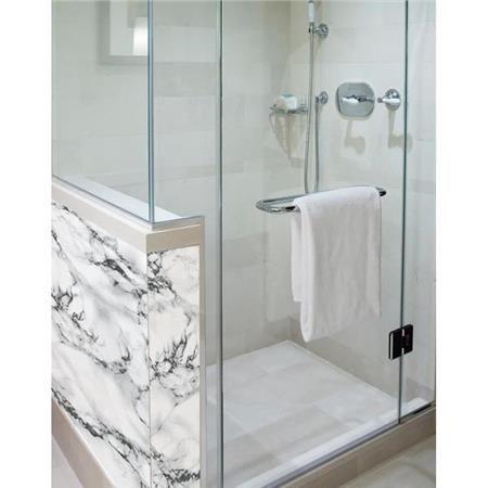 Grey Black Marble Adhesive Film Dc Fix Self Stick Vinyl Small Shower Remodel Shower Remodel Bathroom Remodel Shower