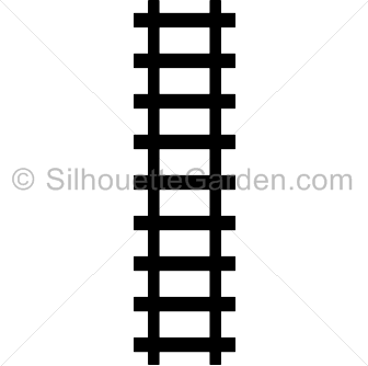 Train Track Silhouette Train Silhouette Train Tracks Silhouette Clip Art