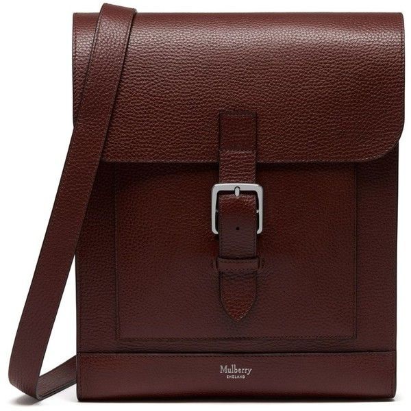878d4fafdda Mulberry Chiltern Messenger ( 850) ❤ liked on Polyvore featuring men s  fashion, men s bags