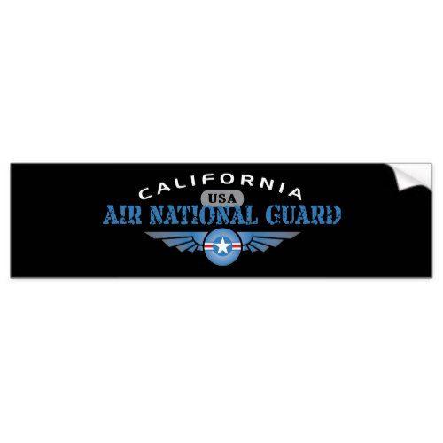 California air national guard bumper sticker