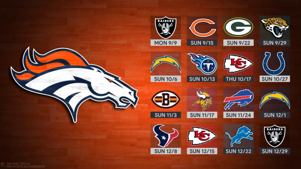 2019 Denver Broncos Wallpapers Pro Sports Backgrounds