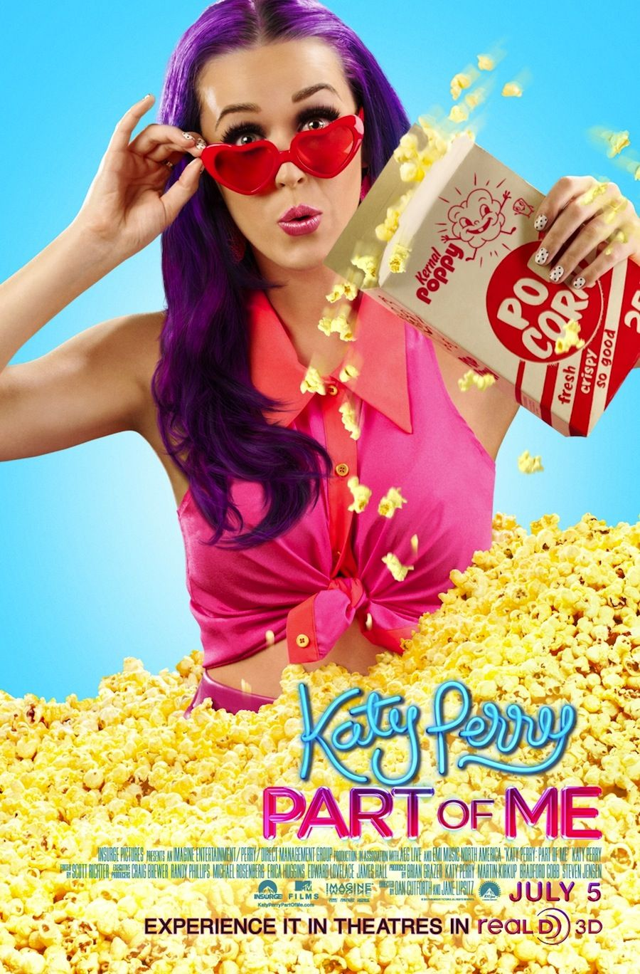 Katy Perry Part of Me poster.