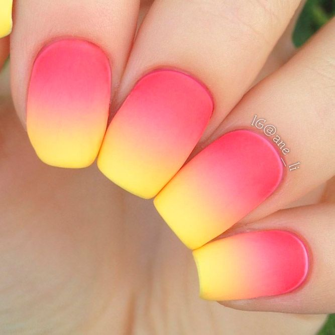 21 Artsy Lovely Nails Designs for a Modern Woman | Ombre, Trendy ...