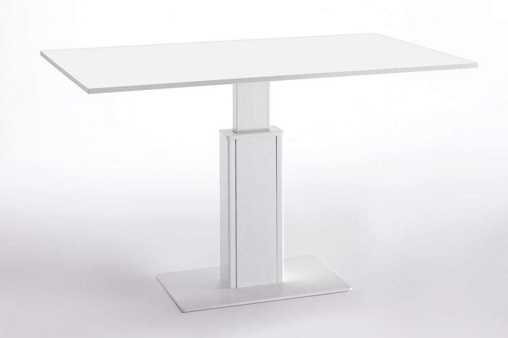 Tecnus sit / stand table with battery pack