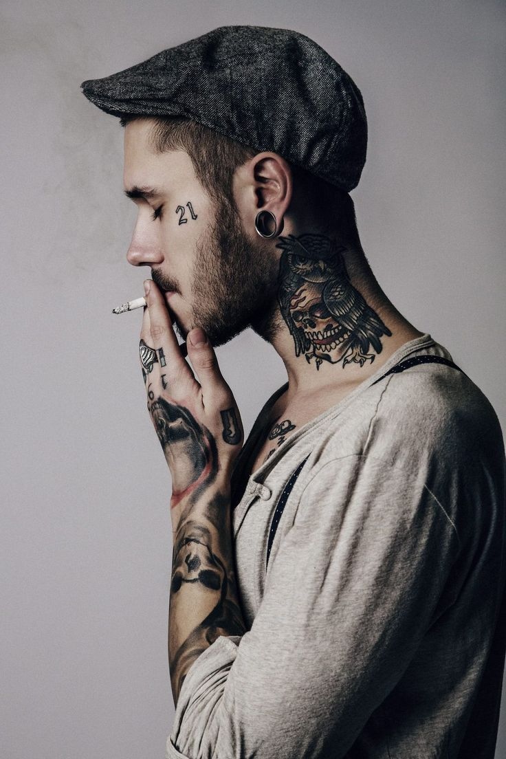 cool guy tattooing - Google Search | guys | Pinterest | Guy tattoos - Kontra K Tattoos