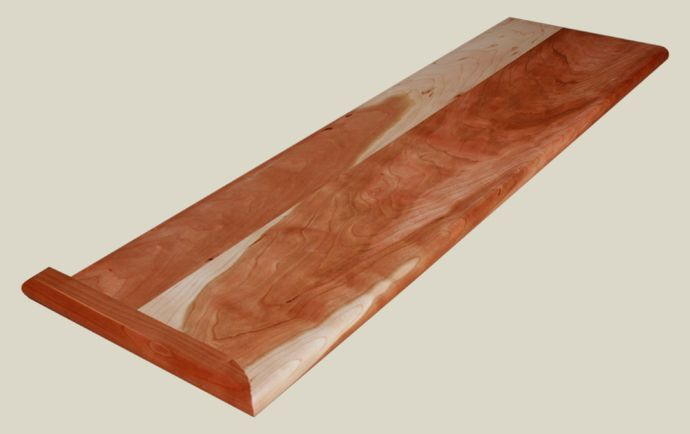 Best Character Cherry Stair Tread Wood Stair Treads Wood 400 x 300